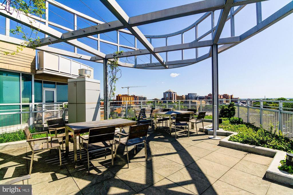 Shared Rooftop Terrace with Panoramic Views - 3409 WILSON BLVD #504, ARLINGTON