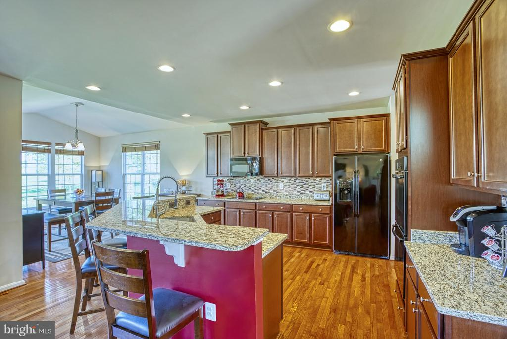 Gourmet Kitchen - 17663 HAMILTON HEIGHTS CT, HAMILTON