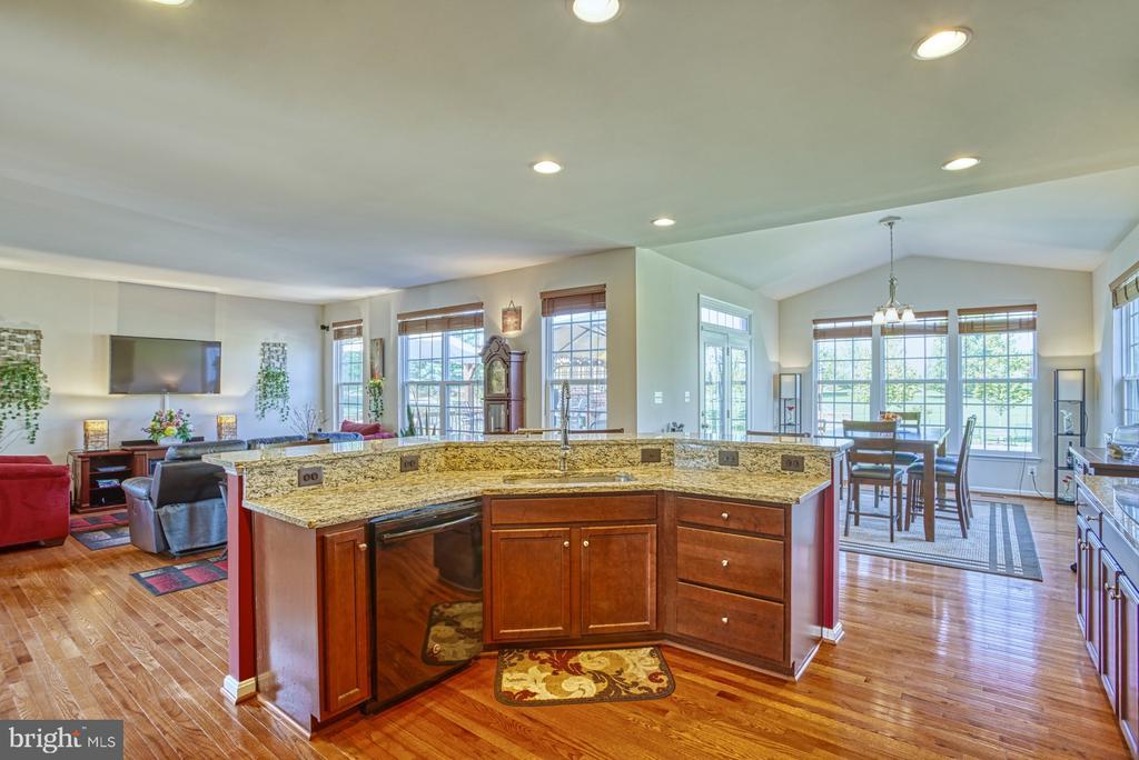 Gourmet Kitchen - 17663 HAMILTON HEIGHTS CT, HAMILTON