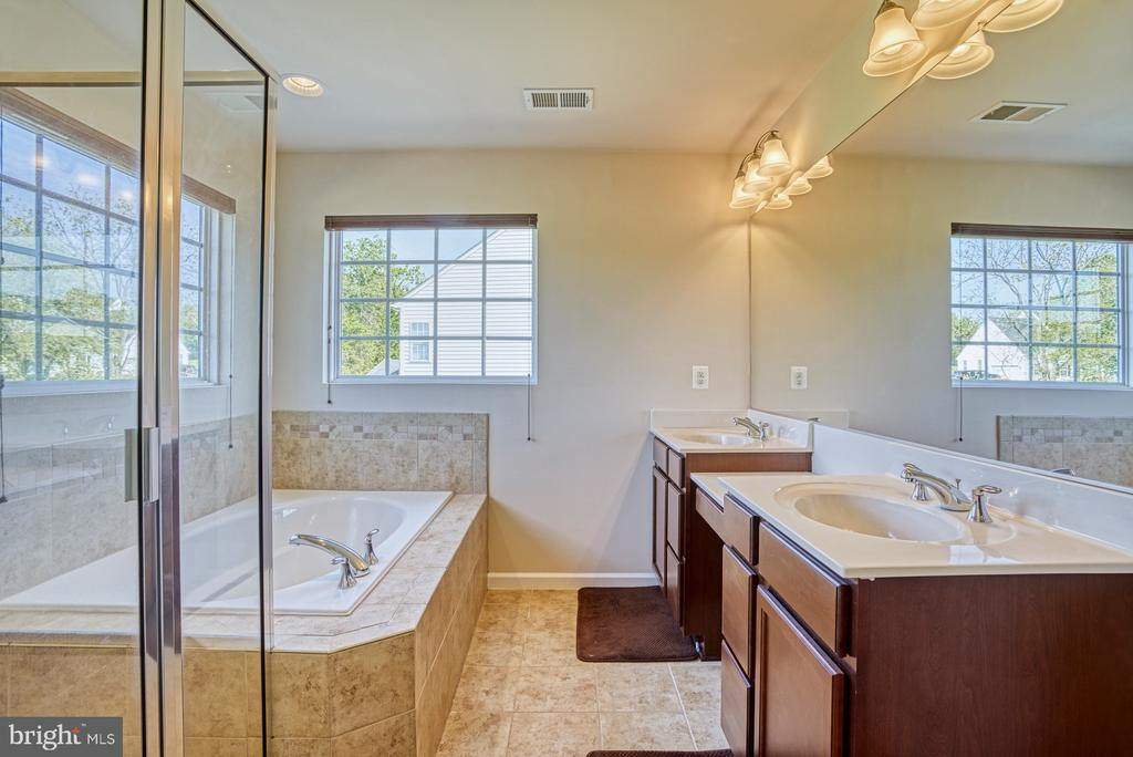 Master Bath - 17663 HAMILTON HEIGHTS CT, HAMILTON