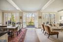 Breakfast Room/Terrace Access - 2163 DUNMORE LN NW, WASHINGTON