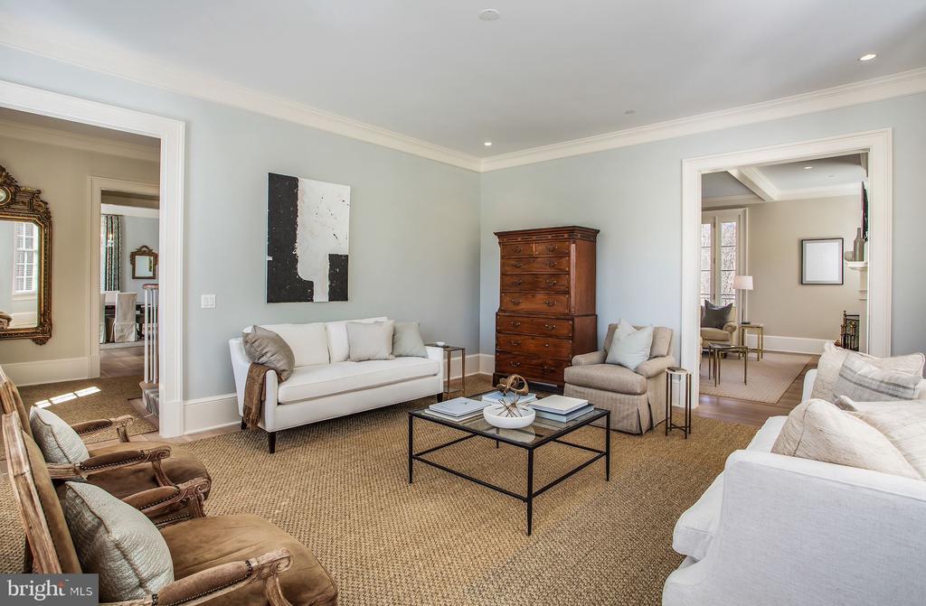 Living Room - 2163 DUNMORE LN NW, WASHINGTON