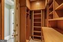 Master Closet - 2163 DUNMORE LN NW, WASHINGTON