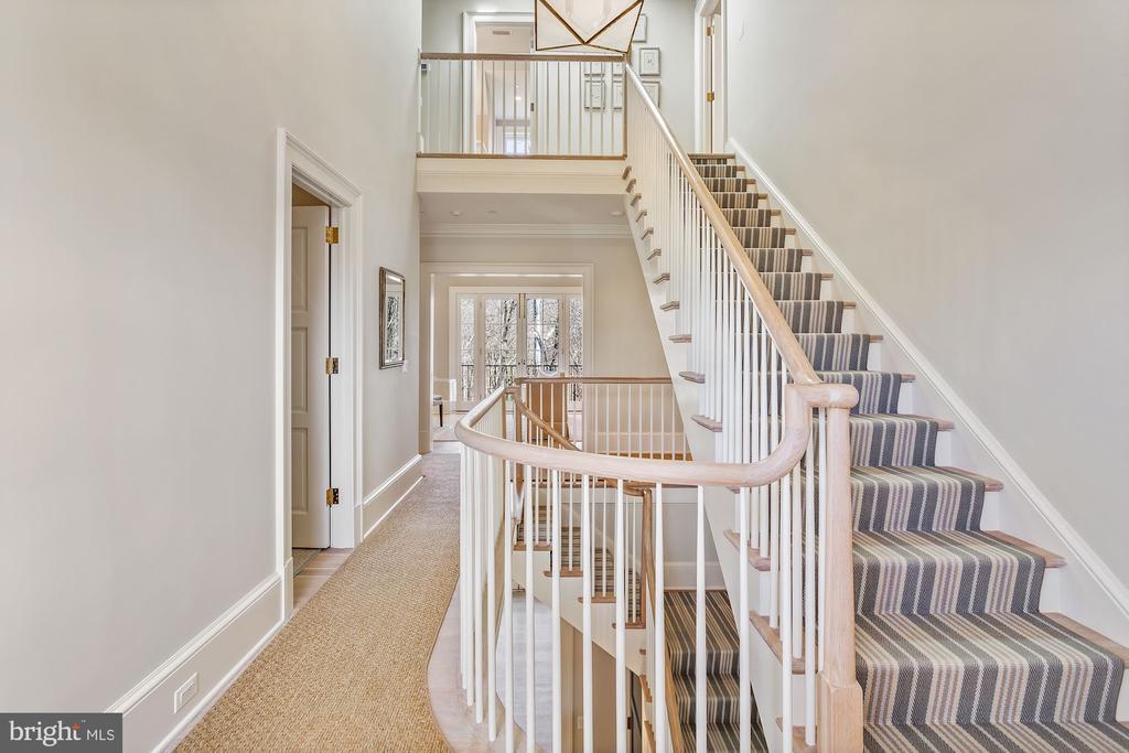 Stair Detail - 2163 DUNMORE LN NW, WASHINGTON