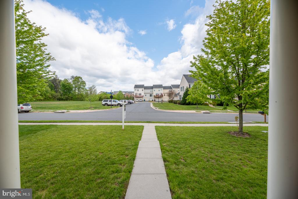 Front Overlooks Common Space - 25928 KIMBERLY ROSE DR, CHANTILLY