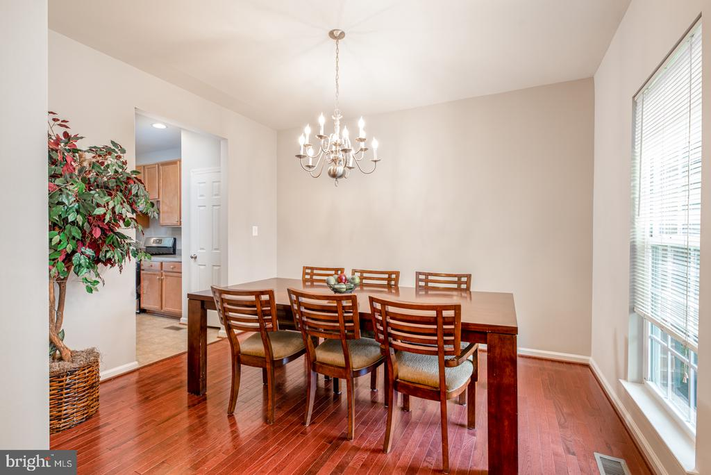 Full Size Dining Room - 25928 KIMBERLY ROSE DR, CHANTILLY