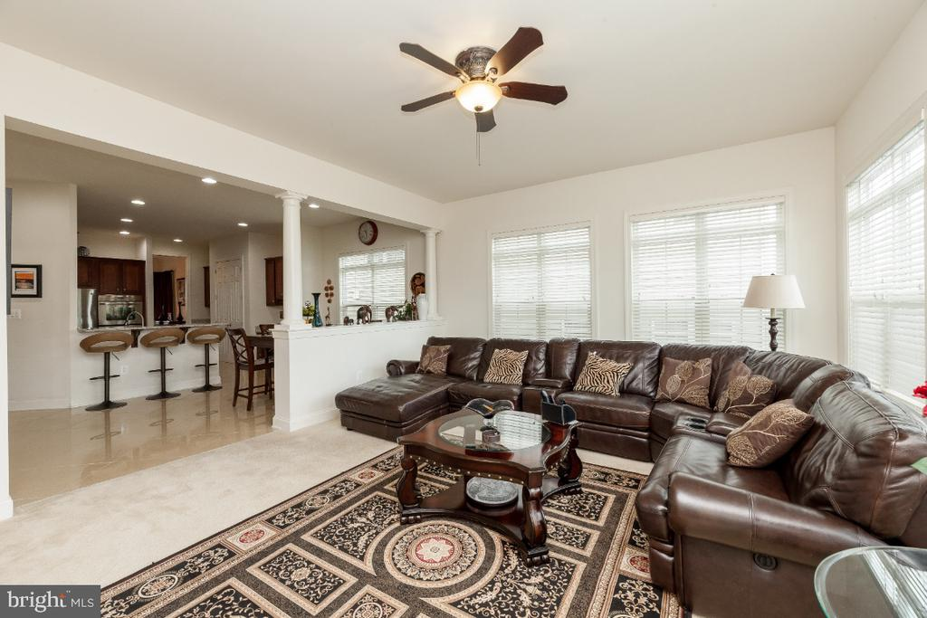 Host your friends & family in this large fam room - 42426 IBEX DRIVE, STERLING