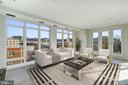 Living Room - 1414 22ND ST NW #PH 62, WASHINGTON