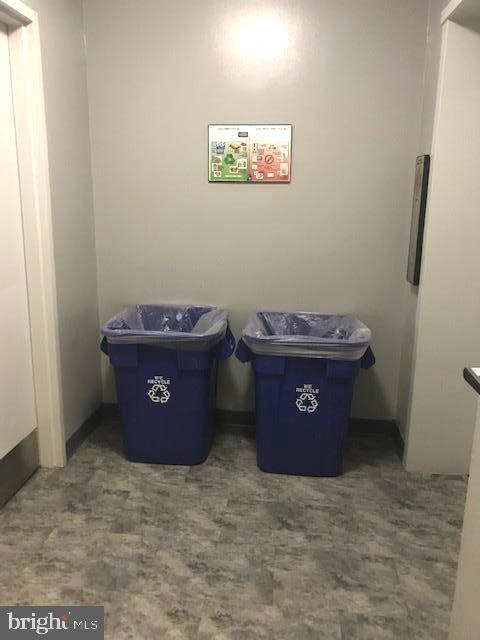 Recycling and trash area just steps from your door - 5500 HOLMES RUN PKWY #1210, ALEXANDRIA