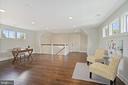 sun highlights wood floors - top floor bonus room - 4856 33RD RD N, ARLINGTON
