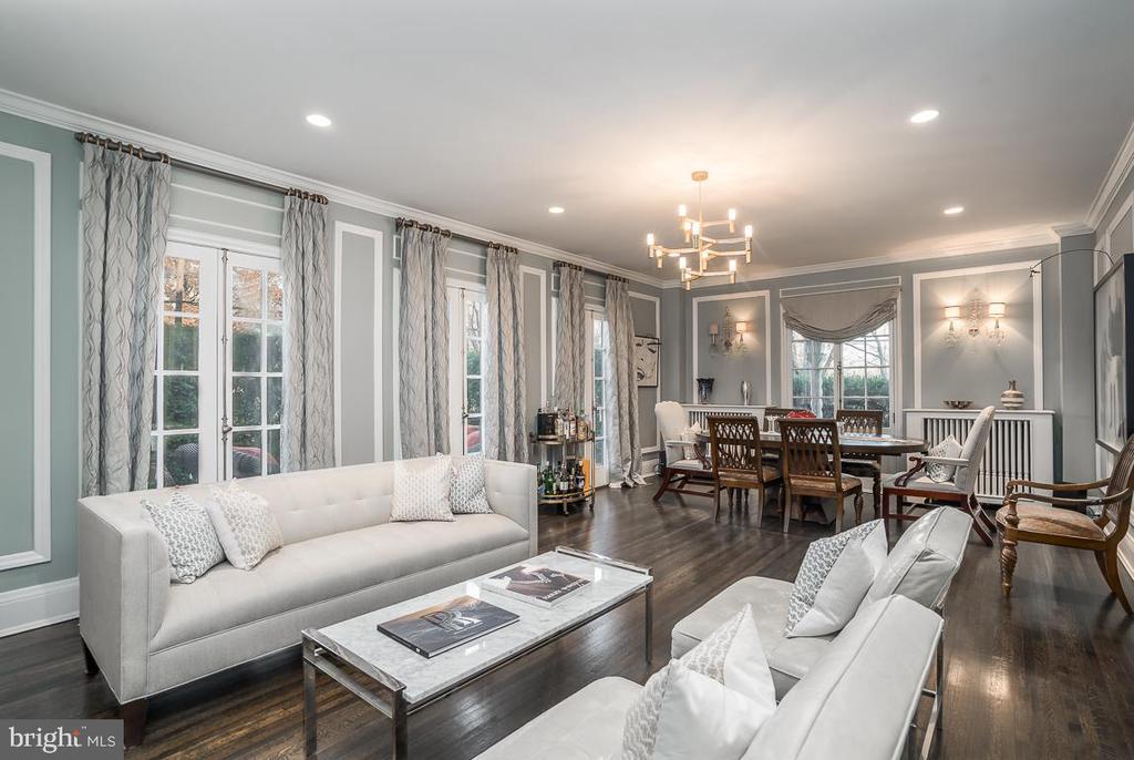 Living room - 3600 MASSACHUSETTS AVE NW, WASHINGTON