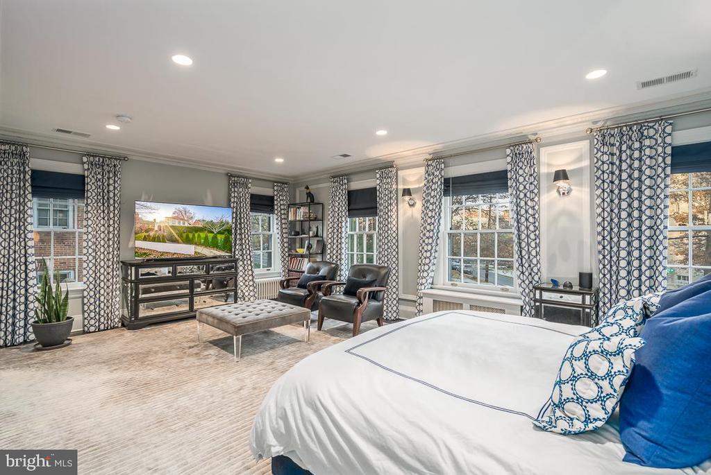 Master bedroom - 3600 MASSACHUSETTS AVE NW, WASHINGTON