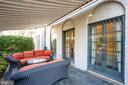 Front patio - 3600 MASSACHUSETTS AVE NW, WASHINGTON