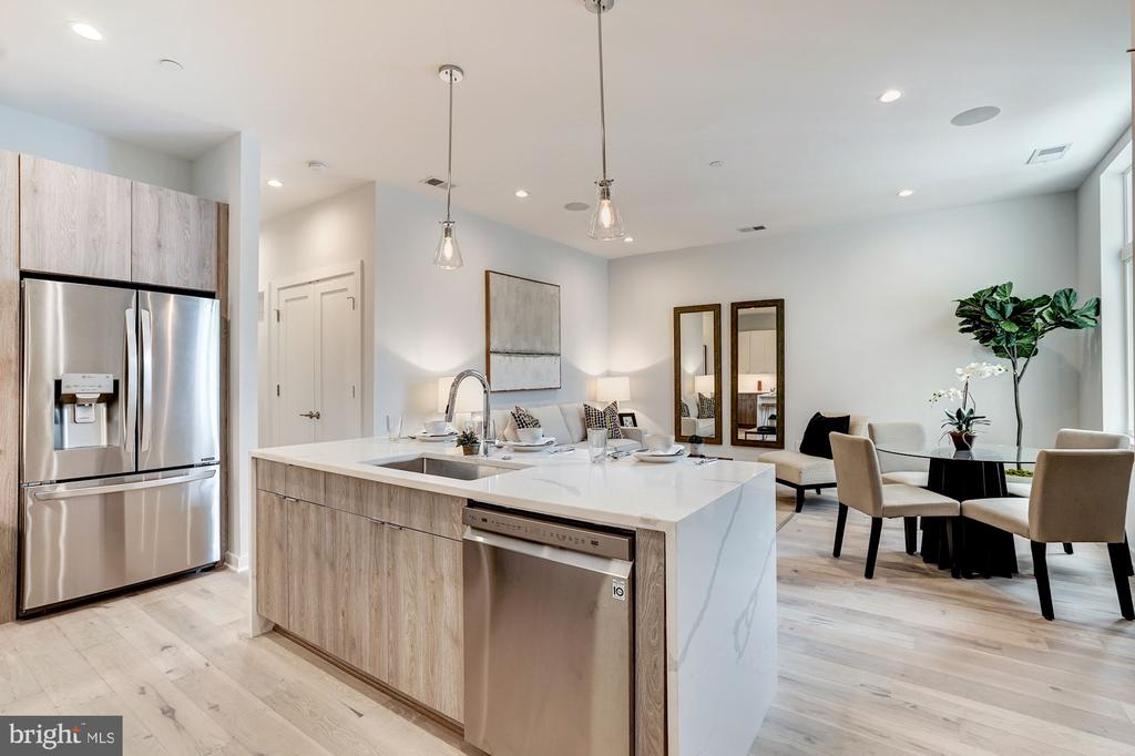 Open concept - 1507 RHODE ISLAND AVE NE #7, WASHINGTON