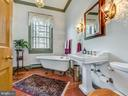 Full Hall Bathroom & cast iron claw foot tub - 4105 WESTON DR, KNOXVILLE