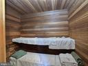 Custom built sauna in quiet corner of barn & gym - 4105 WESTON DR, KNOXVILLE
