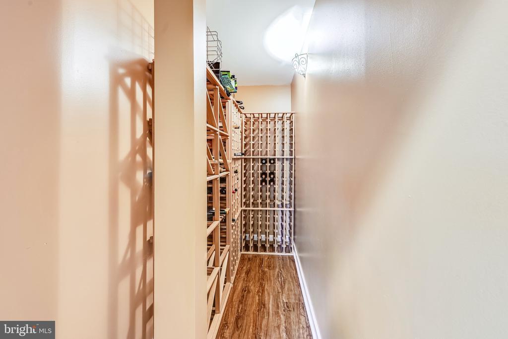 Walk in temperature controlled wine cellar - 3417 HIDDEN RIVER VIEW RD, ANNAPOLIS