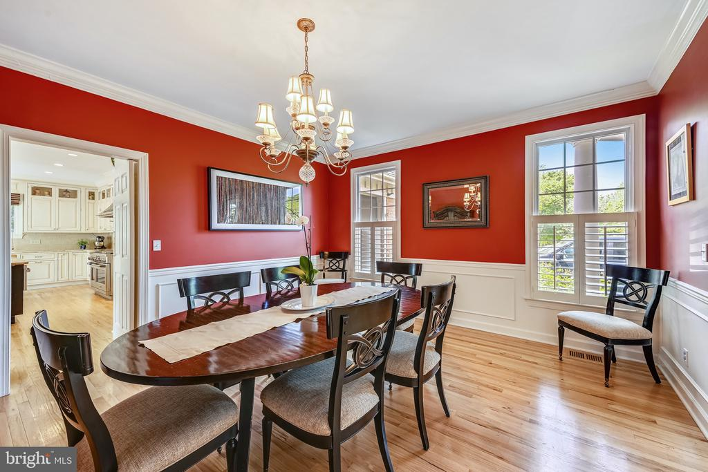Dining room - 3417 HIDDEN RIVER VIEW RD, ANNAPOLIS