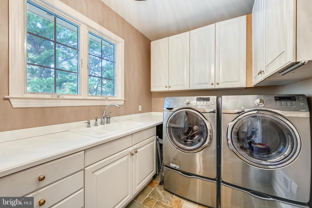 Laundry room off mudroom, second subzero fridge - 3417 HIDDEN RIVER VIEW RD, ANNAPOLIS