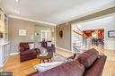 French doors lead to den/office - 3417 HIDDEN RIVER VIEW RD, ANNAPOLIS