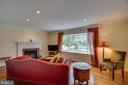 Living room - 5824 BRADLEY BLVD, BETHESDA