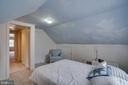 Upper level BR3: new carpet, ample eave storage - 5824 BRADLEY BLVD, BETHESDA