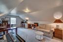 Upper level bedroom 4: new carpet on this level - 5824 BRADLEY BLVD, BETHESDA