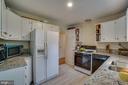 Kitchen: new granite counters - 5824 BRADLEY BLVD, BETHESDA