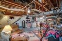 Lower level: could finish further for den/rec room - 5824 BRADLEY BLVD, BETHESDA