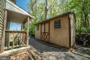 Backyard with Shed - 3506 W WATERSVILLE RD, MOUNT AIRY
