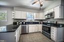 Kitchen with Stainless Steel Appliances - 3506 W WATERSVILLE RD, MOUNT AIRY