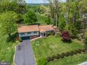 Front of House Drone Coverage - 3506 W WATERSVILLE RD, MOUNT AIRY
