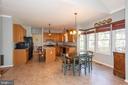 Tile Flooring in Kitchen - 10406 FARMVIEW CT, NEW MARKET