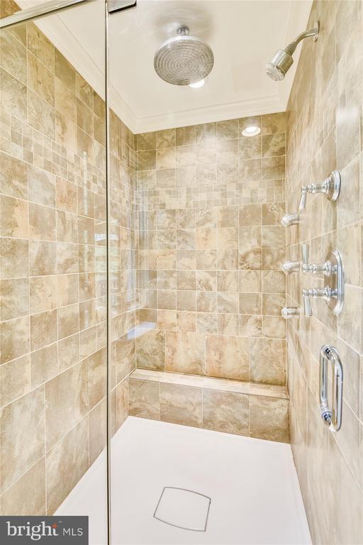 Master bath shower - 236 MOUNTAIN LAUREL LN, ANNAPOLIS