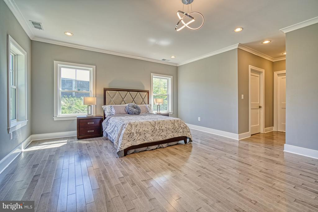 Spacious 2nd Master Bedroom - 1349 GORDON LN, MCLEAN