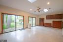 27 x 15 finished room behind garage; studio/office - 449 POPLAR LN, ANNAPOLIS