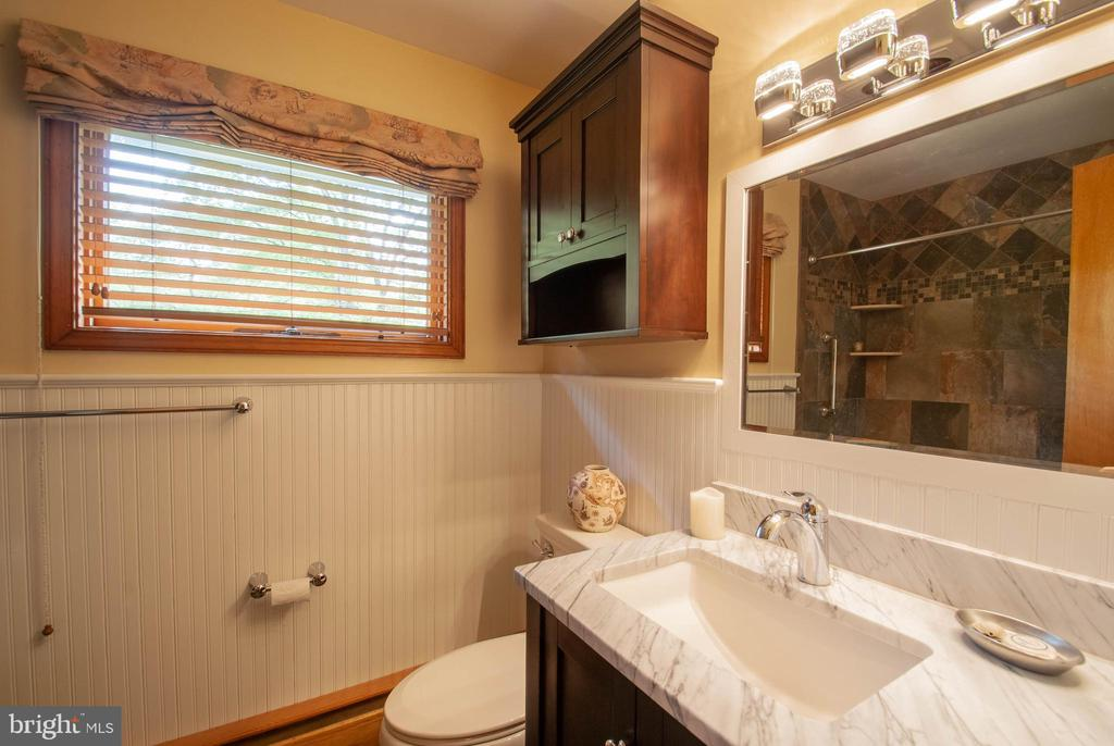 renovated full bath - 449 POPLAR LN, ANNAPOLIS