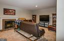 Great man cave or media area! - 6510 WESTMORE CT, SPRINGFIELD