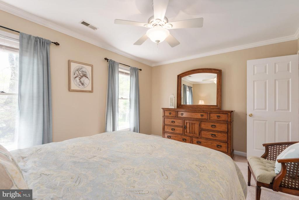Ceiling fan and double windows.... - 325 SANDY RIDGE RD, FREDERICKSBURG