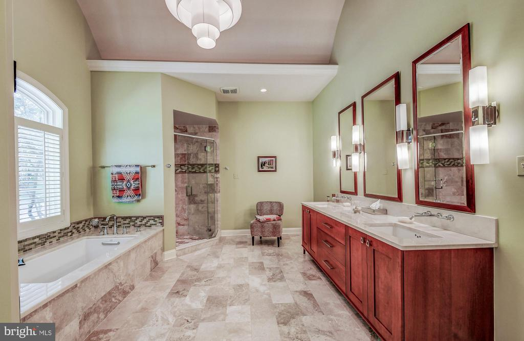 Huge soaking tub - 28 CAVESWOOD LN, OWINGS MILLS