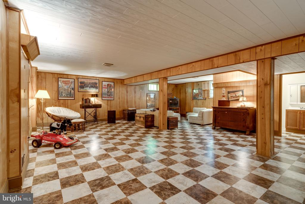 Open Huge basement with storage - 3634 CAMELOT DR, ANNANDALE