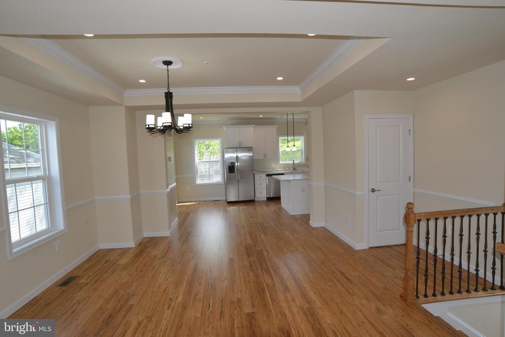 Open floorplan - 5509 C ST SE, WASHINGTON