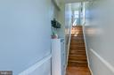 Entry way from the front door. - 214 WOODSTREAM BLVD, STAFFORD