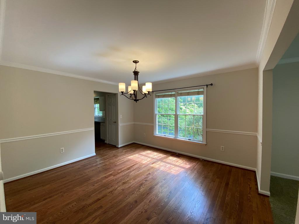 Dining room with Hardwood Floors - 1401 HUNTING WOOD RD, ANNAPOLIS