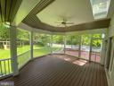 Beautiful backyard on corner lot, backing to trees - 1401 HUNTING WOOD RD, ANNAPOLIS