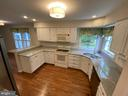 Kitchen with lots of natural light - 1401 HUNTING WOOD RD, ANNAPOLIS