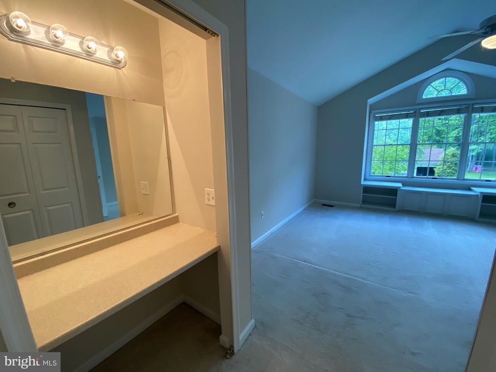 Built-in Vanity in Master Bedroom - 1401 HUNTING WOOD RD, ANNAPOLIS