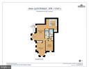Floor plans for #1 (2 Bedroom/2 Bathroom - 1600 15TH ST NW, WASHINGTON