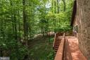 Staircase Ascending to Main Level Decking - 1693 ALICE CT, ANNAPOLIS