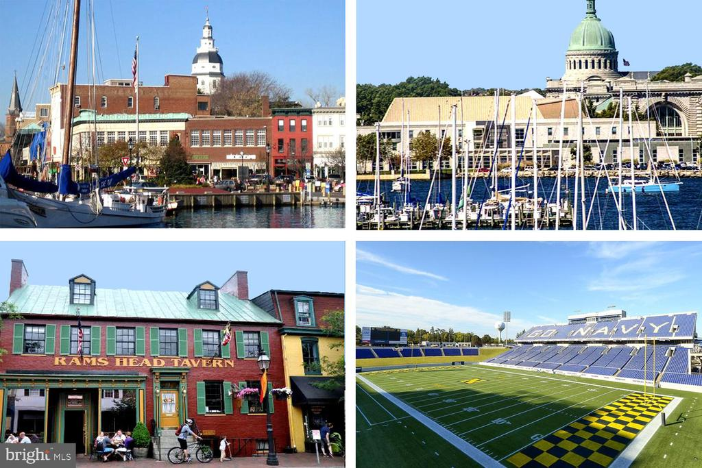 Visit Downtown City Dock & US Naval Academy! - 1693 ALICE CT, ANNAPOLIS